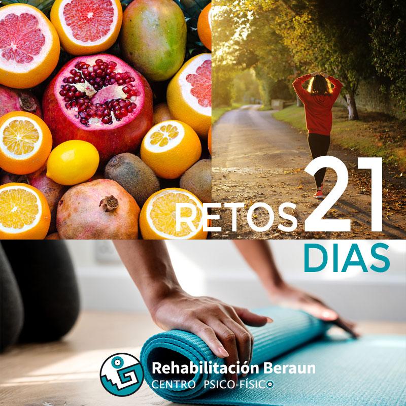 Reto 21 días, hábitos saludables fáciles de mantener en el tiempo