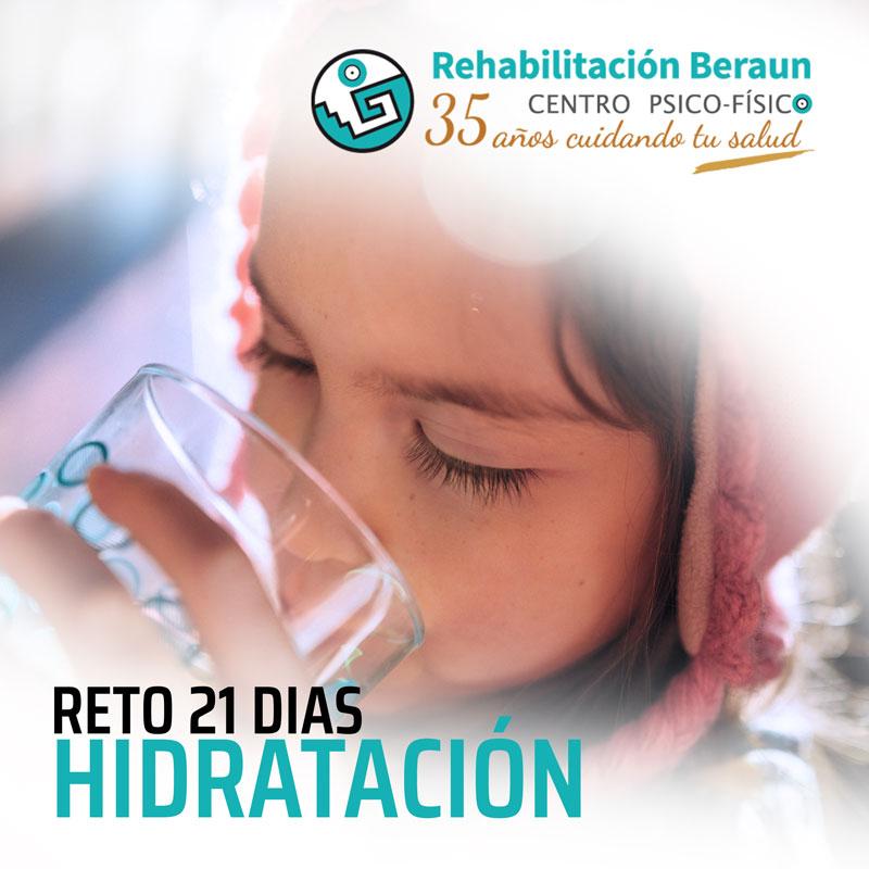 hidratación agua salud rehabilitacion beraun errenteria